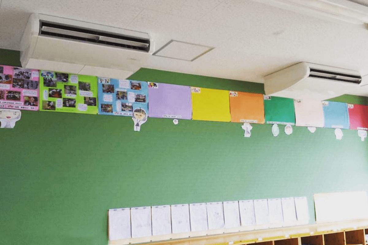 知覧地域小学校空調整備工事