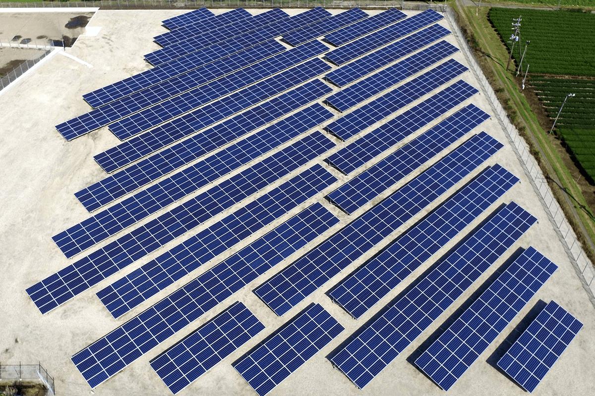 太陽光発電所パネル増設工事